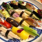 vegan nigiri sushi