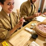 temari sushi making