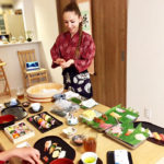 event making sushi scene