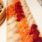 sushi salmon tuna seabream