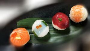 temari sushi photo