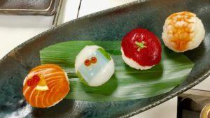 4 temari sushi