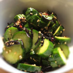 cucumber Japanese style salad