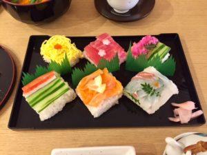 mosaic sushi only