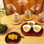 tea tasting 3 kinds