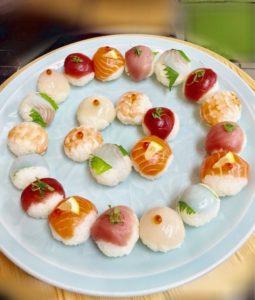 many temari sushi