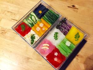 vegetarian mosaic sushi 2