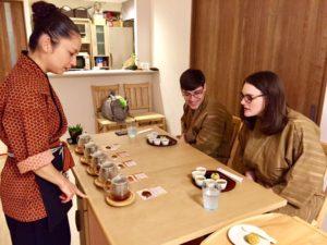 tea tasting time