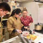 making gyudon
