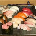 nigiri sushi made by guest