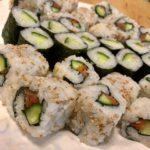maki rolls we made