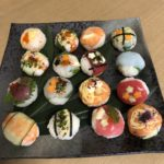 temari sushi made by guest
