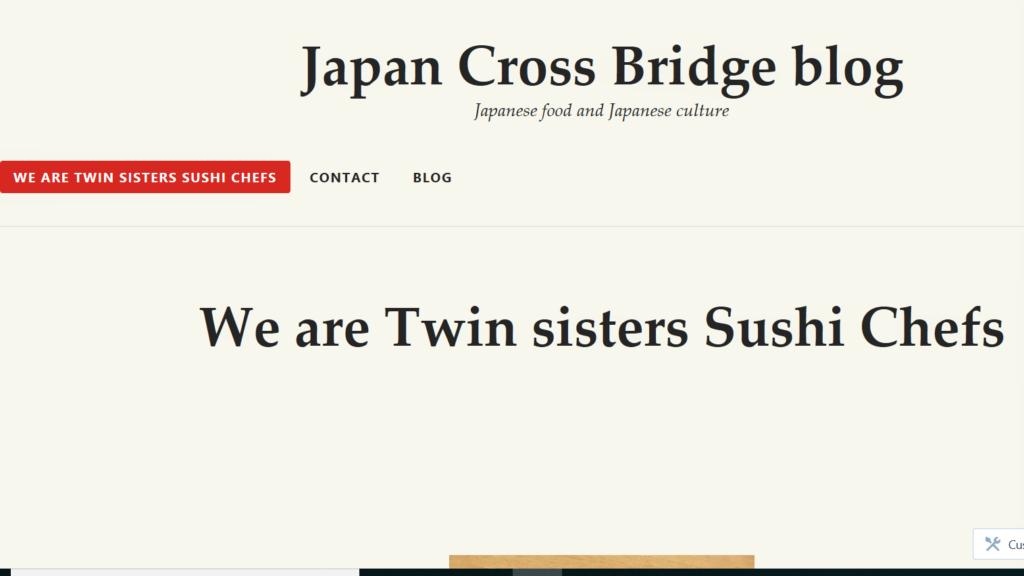 Japan Cross Bridge Blog