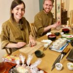 making temari sushi