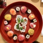 beautiful sushi guests made