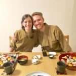 guests with sushi