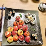amazing sushi guest made
