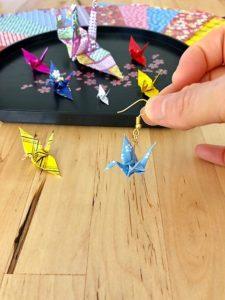 origami crane accessories