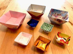 origami container