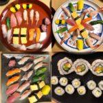 beautiful nigiri sushi