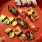 Vegan extravaganza sushi