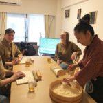 sushi rice making