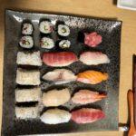 nigiri sushi the guest made