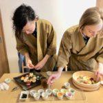 Temari sushi decoration