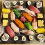 beautiful sushi guest made